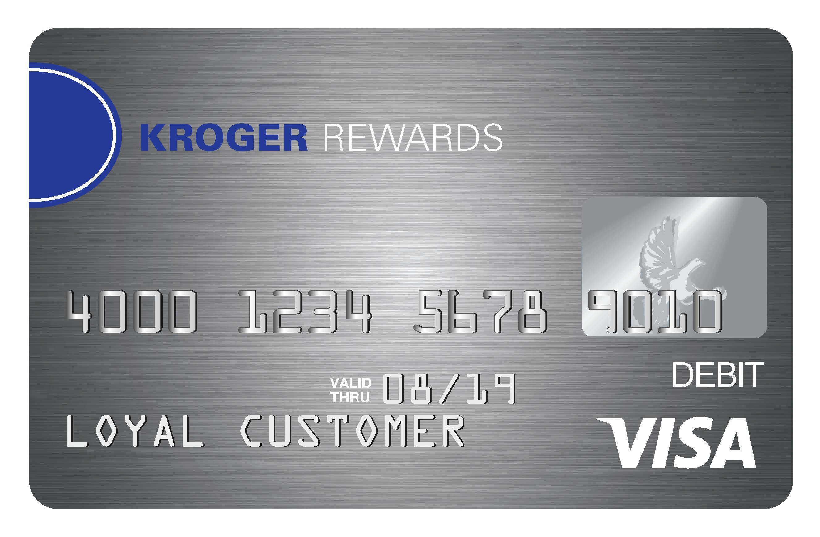 earn rewards towards free groceries and fuel savings - Prepaid Rewards Card
