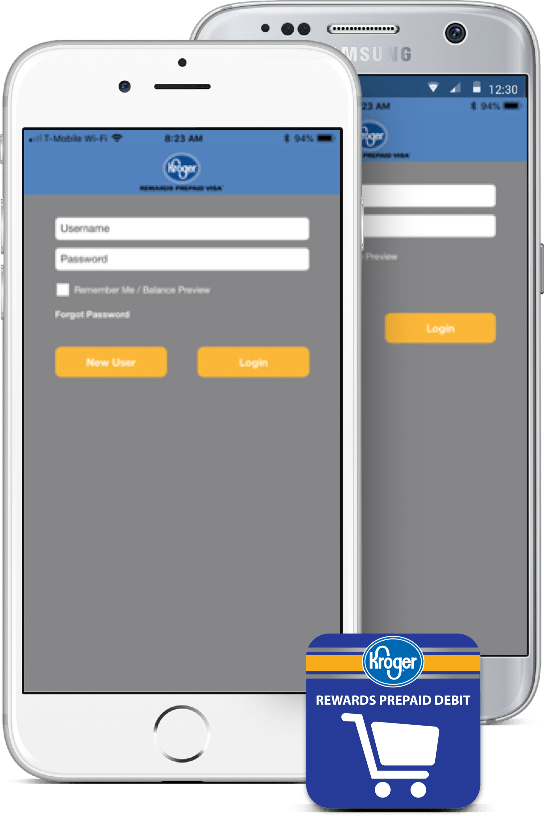 Prepaid Card Mobile App | Kroger REWARDS Prepaid Visa