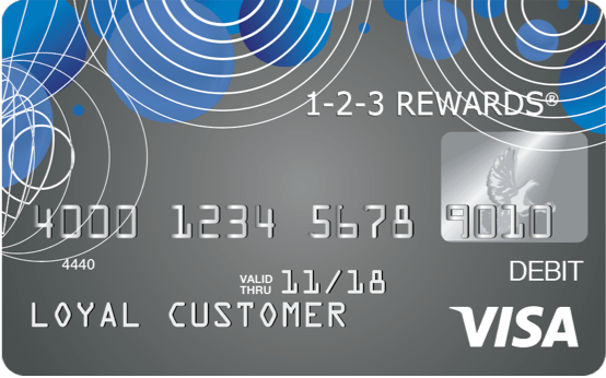 reloadable Visa® prepaid dbit card